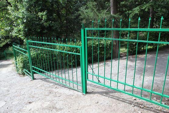 Санаторий Утёс, забор